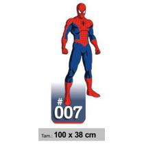 Adesivo De Parede Decorativo Border Homem Aranha 007
