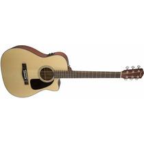 Violão Fender Cf60 Ce Cutway Eletroacoustico Com Hard-case