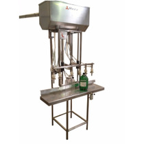 Máquina Llenadora Para Líquidos Semiautomática