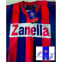 Camiseta Niño Retro Oficial San Lorenzo Perazzo T10 Falugan