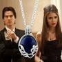 Colar Vampire Diaries Katherine Pierce Petrova Elena Stefan