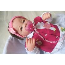 Boneca Bebe Reborn Molde Lucca.