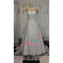 Vestido Noiva G Renda Pronta Entrega Promoção