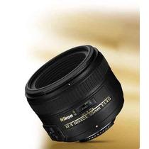Lente Nikon 50mm F/1.4g Af-s Sem Caixa