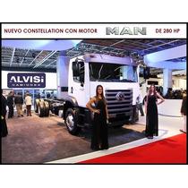 Nuevo Precio! Constellation Motor Man 280hp 6x2 Alvisi S. A.