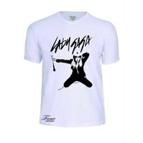 Camisas Camisetas Lady Gaga Cantor Banda T-shirt Rock Roll