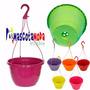 Macetas Colgantes Para Plantas Decorativas Varios Colores