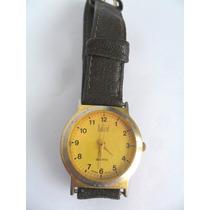 Relógio De Pulso Marca Dumont Quartz Antigo Coleção