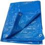 Lona De Polietileno Azul 5x3m Festa Telhado Multi Uso Tander