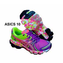 Tênis Asics Feminino E Marsculino Academia Caminhada Fitness