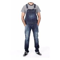 Sawary Macacão Masculino Jeans Boyfriend