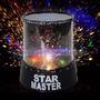 Proyector De Estrellas Velador Star Master Pilas Led Planeta