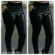 Calça Feminina Legging Plus Size Tamanhos Especiais Saruel