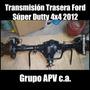 Transmision Trasera Ford Súper Duty 4x4 2012 Repuestos