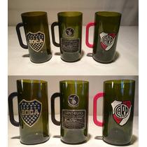 Fernet Branca Boca Juniors Etiqueta De Acero