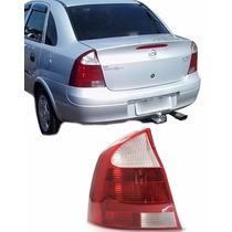 Lanterna Traseira Corsa Sedan 2004 À 2012 Esquerdo Re Crista