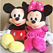 Pelucia Kir Mickey Mouse E Minnie Mouse Gigante Musical