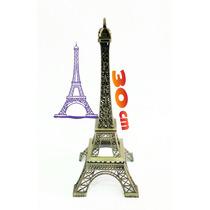 Torre Eiffel Paris Adorno Para Eventos 30cm