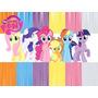 Kit Imprimible 2x1 My Little Pony Candy Bar Cotillon Pequeño