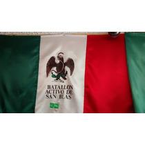 Bandera Mexico Batallon De San Blas Historia Historica