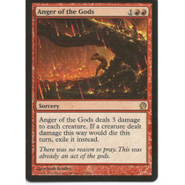 Anger Of The Gods - Theros Mtg Magic Red Rare