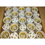 50 Bocais De Porcelana Soquete Receptáculo E27 Elétrico