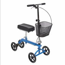 Andadera Para Rodilla Scooter Soporte Andador Con Canasta