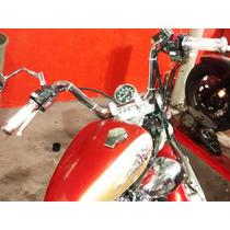 Guidon Custom Virago 535 E 250 Cromado Pronta Entrega.