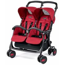Cochecito Mellizos Aria Twin Shopper Peg-perego R&m Babies
