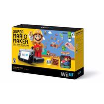 Bundle Wii U Mario Maker + Jogo + Artbook + Amiibo