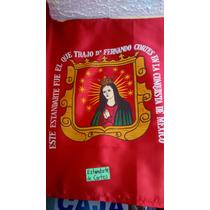 Bandera Mexico Hernan Cortes Estandarte Historia Historica