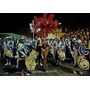 Desfile De Carnaval Tambores Y Vedette - Lámina 45 X 30 Cm.