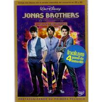 Jonas Brothers En Concierto 2d Y 3d Version Extendida Dvd