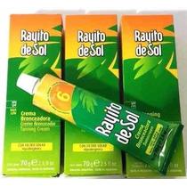 Kit Verao 3 Produtos Spf 6 Rayito De Sol Bronzeador Original