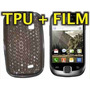 Funda Silicona Tpu +film Protector Samsung S5670 Galaxy Fit