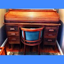 Escrivaninha Papeleira Xerife Reformada 30 Acompanha Cadeira