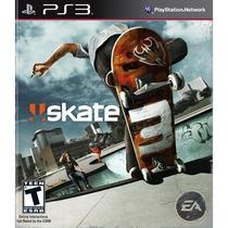 Skate 3 Ps3 Skate3 Play3 Original - Pronta Entrega