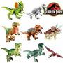 Exclusivo Set De 8 Figuras Jurassic Park Lego
