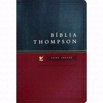 Bíblia De Estudo Thompson Luxopal.jesus Em Vermelho