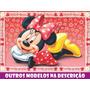 Painel Decorativo Festa Lona Banner Minnie 2,0 X 1,5m
