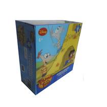 Rompecabezas Lenticular 100 Pzas. Phineas Y Ferb