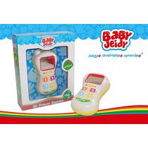 Celular Phone Mi Primer Juguete Baby Jeidy Niño Niña Bebe