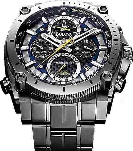 6e712b44051 Relógio Bulova 96b175 Precisionist Uhf 262 Crono Original - R  2.979 ...