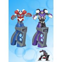 Optimus Prime Vs Megatron Transformers Noche Batalla Combate
