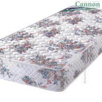 Colchon 1 Y 1/2 Plaza Cannon Princess Espuma 24 Kg 1mt Ancho