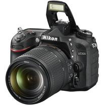 Camara Reflex Nikon D7200 Kit Lente 18-140mm 24mp Full Hd