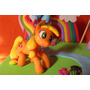 Adorno Torta My Little Pony Porcelana Fria Cumpleaños Disney