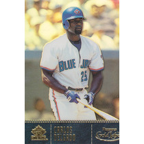 2001 Topps Gold Label Class 1 Carlos Delgado 1b Blue Jays