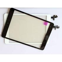 Touch Screen Cristal Ipad Mini Con Conector Ic Y Boton Home