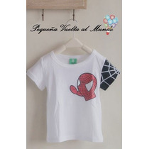 Spider Remera Hombre Araña Regalo Spiderman Super Heroe